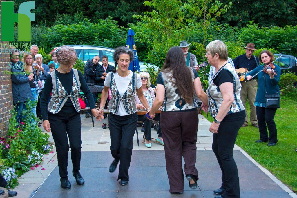 Dancers at local pub