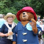 Paddington Bear does the Riverside walk